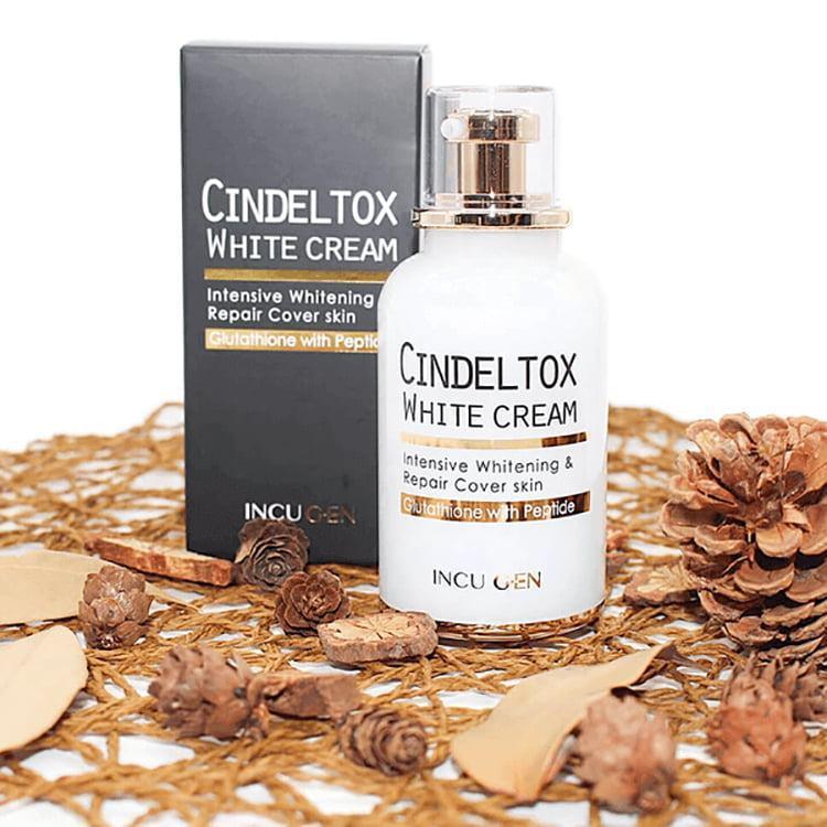 Kem Dưỡng Trắng Da Incuheal Cindel Tox White Cream 50ml