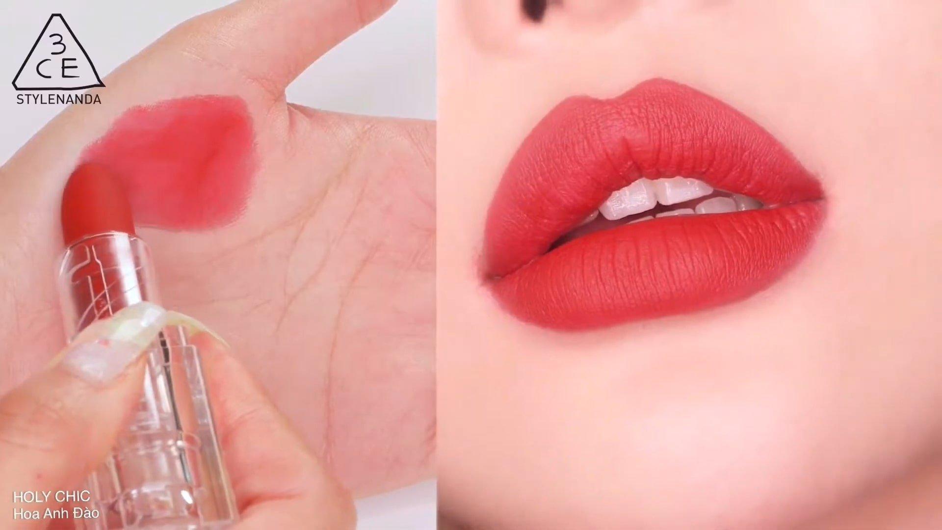 Holy Chic là sắc son đỏ hồng có ánh chút tím nhẹ, vừa an toàn lại không quá nhàm chán. (nguồn: Internet(