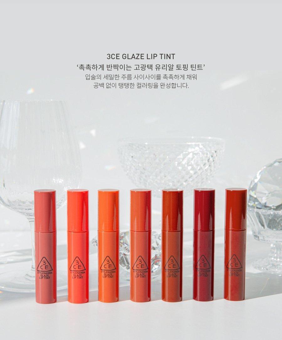 3CE Glaze Lip Tint hứa hẹn sẽ là một siêu phẩm mới, đem đến cho tín đồ yêu thích son môi một mùa đông không lạnh