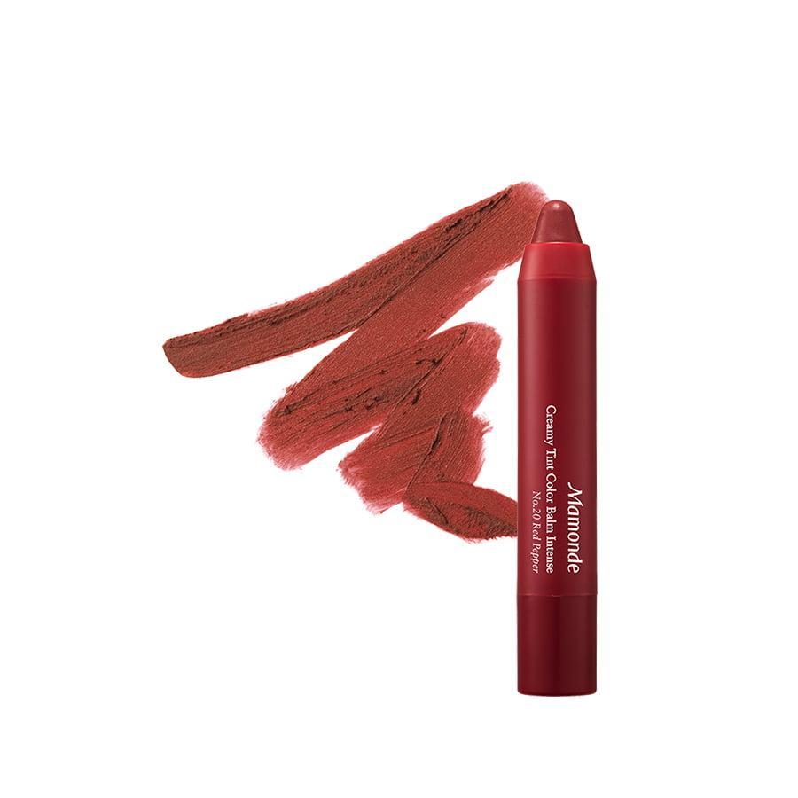 Son Bút Chì 3 Trong 1 Cho Bờ Môi Mềm Mượt Mamonde Creamy Tint Color Balm Intense (2.5g)