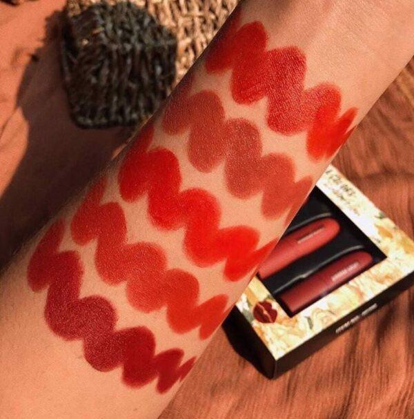 Set Son Sivanna Colors 5X Lipstick Collection HF398