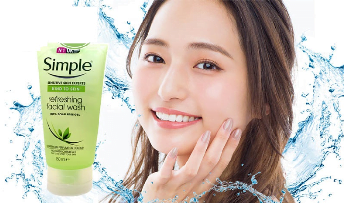 Sữa Rửa Mặt Dạng Gel Simple Refreshing (150ml)