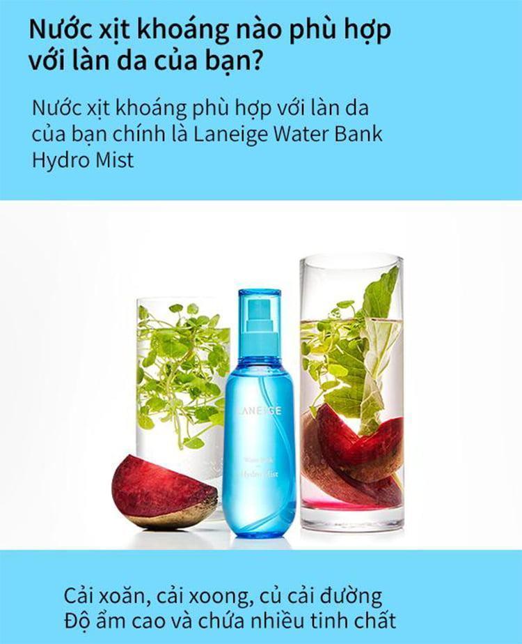 Laneige Water Bank Hydro Mist 70ml