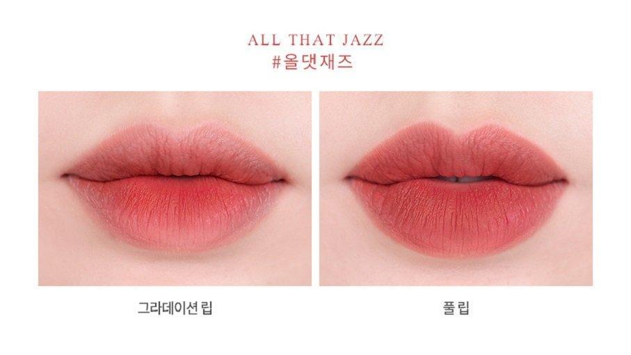 Son Roamand Zero Gram Matte Lipstick màu All The Jazz (ảnh: Internet)