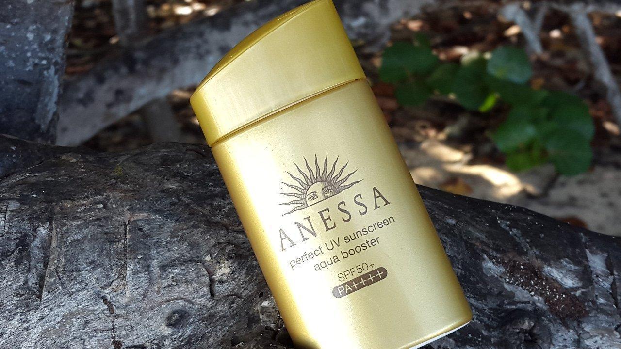 Anessa Perfect UV Sunscreen Aqua Booster SPF50+ PA++++(Ảnh: Internet)