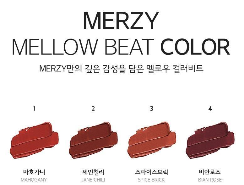 Kết quả hình ảnh cho Merzy Bite The Beat Mellow Tint