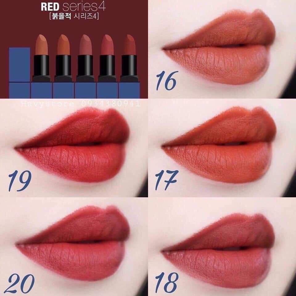 BBIA Last Lipstick Ver 4 với 5 màu son vô cùng thời thượng (Ảnh: Internet)