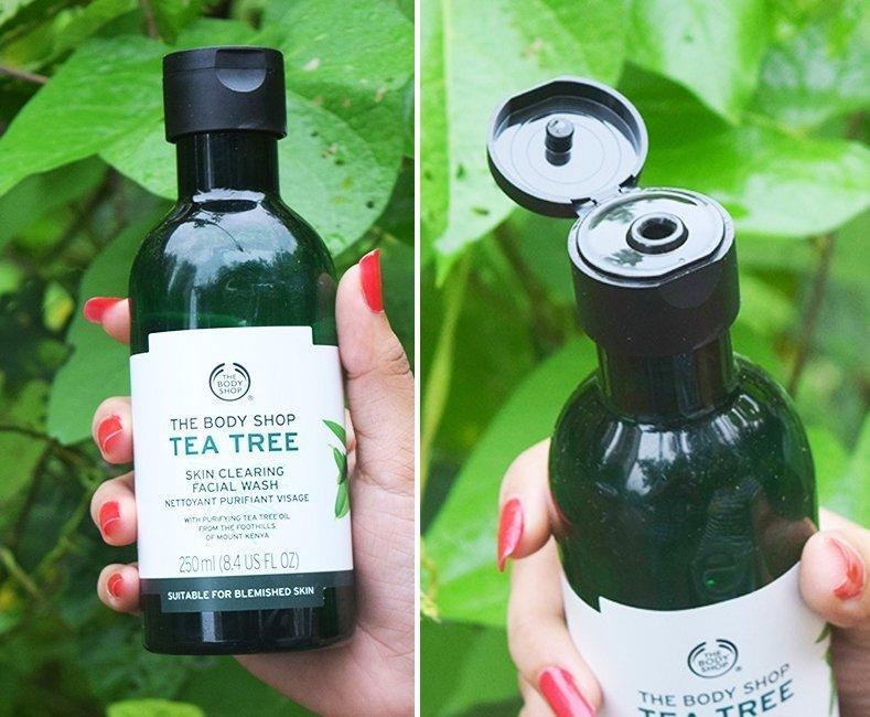 Bao bì cực kì thân thiện và dễ dàng sử dụng của Tea Tree Skin Clearing Facial Wash. Nguồn: Internet.