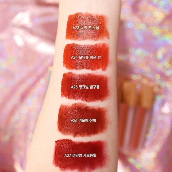 [HOT NEW] Son Kem Lì Black Rouge Air Fit Velvet Tint Ver 5: BAM