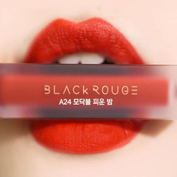 [HOT NEW] Son Kem Lì Black Rouge Air Fit Velvet Tint Ver 5: BAM