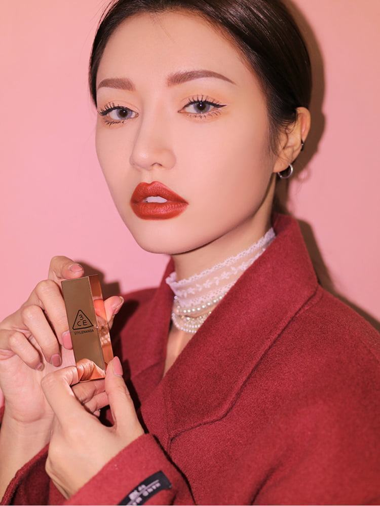 Son Thỏi Lì 3CE Matte Lip Color - 228 Red Seventies