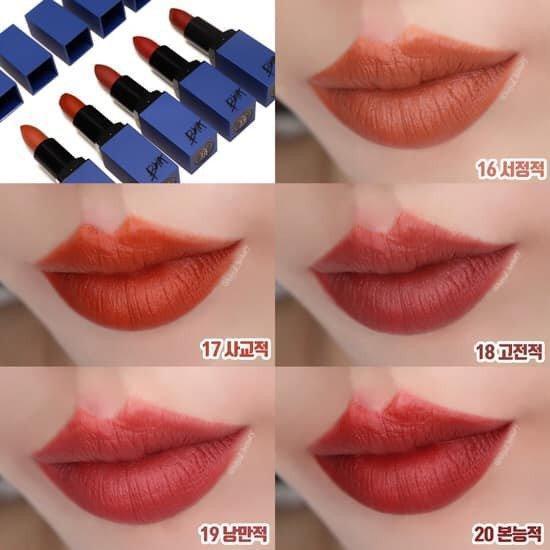 Bảng màu son vô cùng thời thượng của son BBIA Last Lipstick Version 4 (Ảnh: Internet)