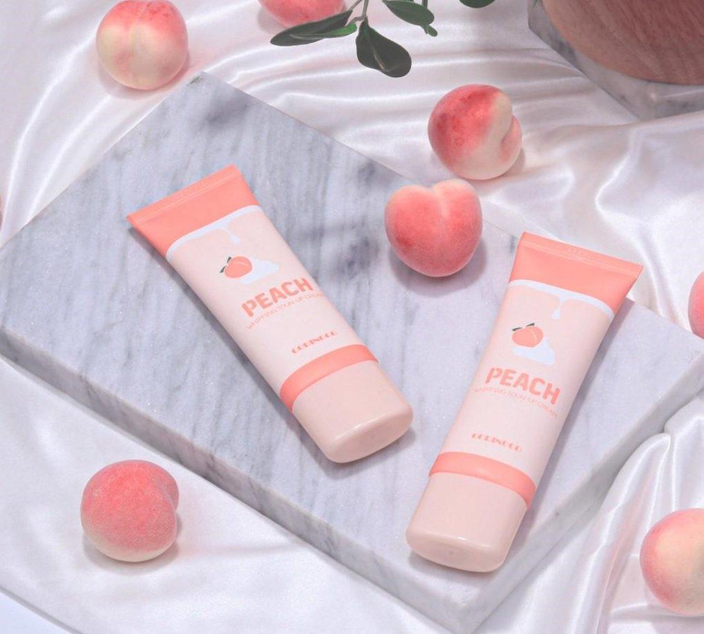 Coringco Peach Whipping Tone Up Cream cho bạn làn da trắng hồng như quả đào