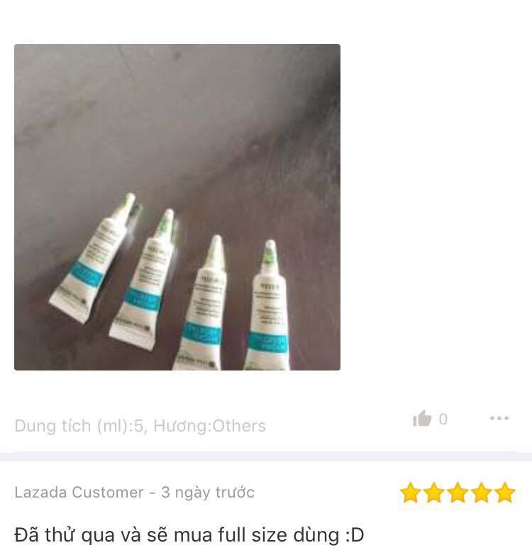 Đánh giá của khách hàng sử dụng titinh chất cấp ẩm Yves Rocher Mini Ultra Moisturizing Liquid Serum 5ml trên Lazada