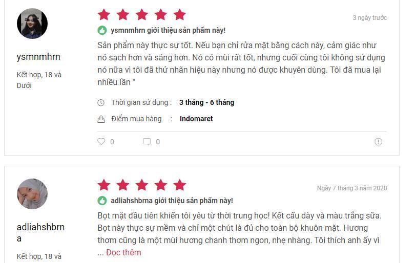 Sản phẩm nhận được nhiều đánh giá tốt từ phía khách hàng (nguồn ảnh: BlogAnChoi).