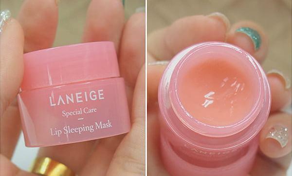 Mặt Nạ Ngủ Dưỡng Ẩm Môi Và Phục Hồi Môi Thâm Laneige Special Care Lip Sleeping Mask - Mini size