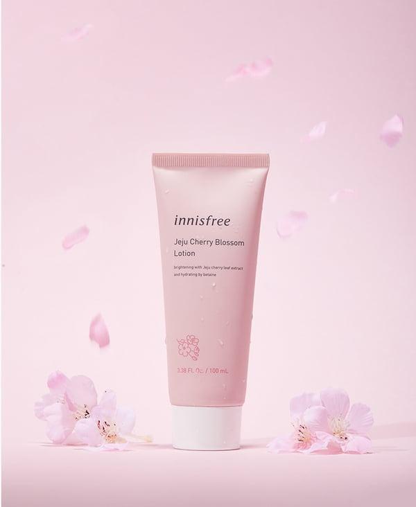 Sữa Dưỡng Innisfree Jeju Cherry Blossom Lotion 100ml