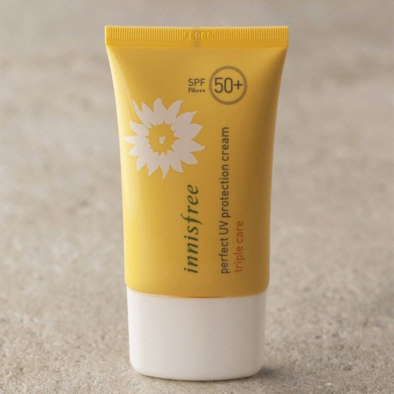 Innisfree Perfect UV Protection Cream Triple Care - Minh Châu Cosmetic1