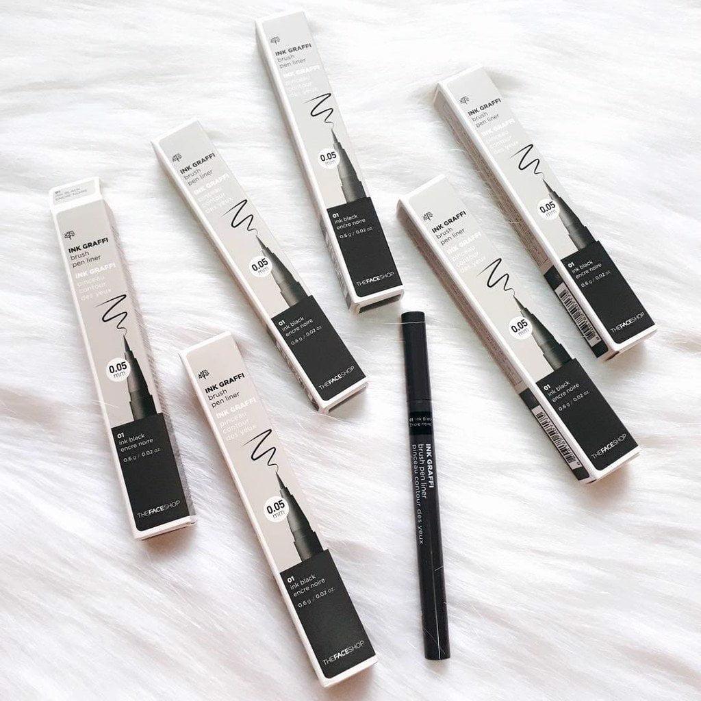 The Face shop Ink Graffi Brush Pen Liner
