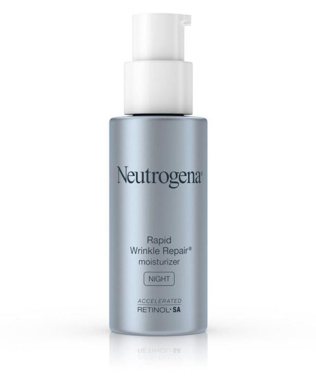 Rapid Wrinkle Repair Night Moisturizer Neutrogena không chỉ dưỡng da mà còn chống nhăn hiệu quả (Ảnh: Internet)