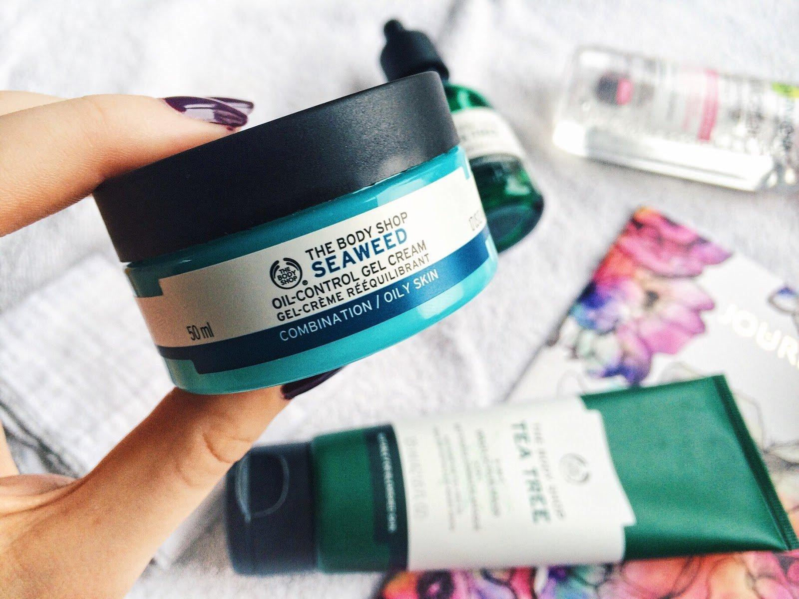 Kem dưỡng ẩm dạng gel The Body Shop Seaweed Oil-Control Gel Cream (ảnh: Internet)