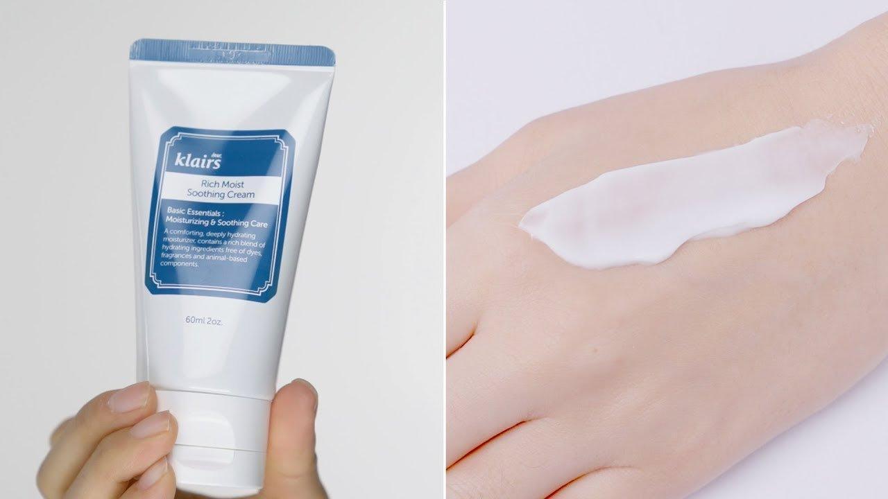 Kem dưỡng ẩm Klairs Rich Moist Soothing Cream (ảnh: Internet)