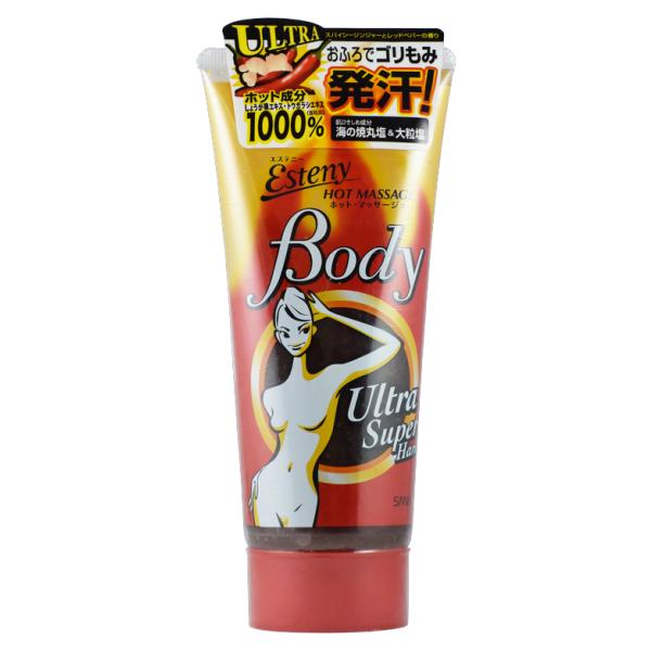 Kem đánh tan mỡ bụng Esteny Hot Body Ultra Super Hard