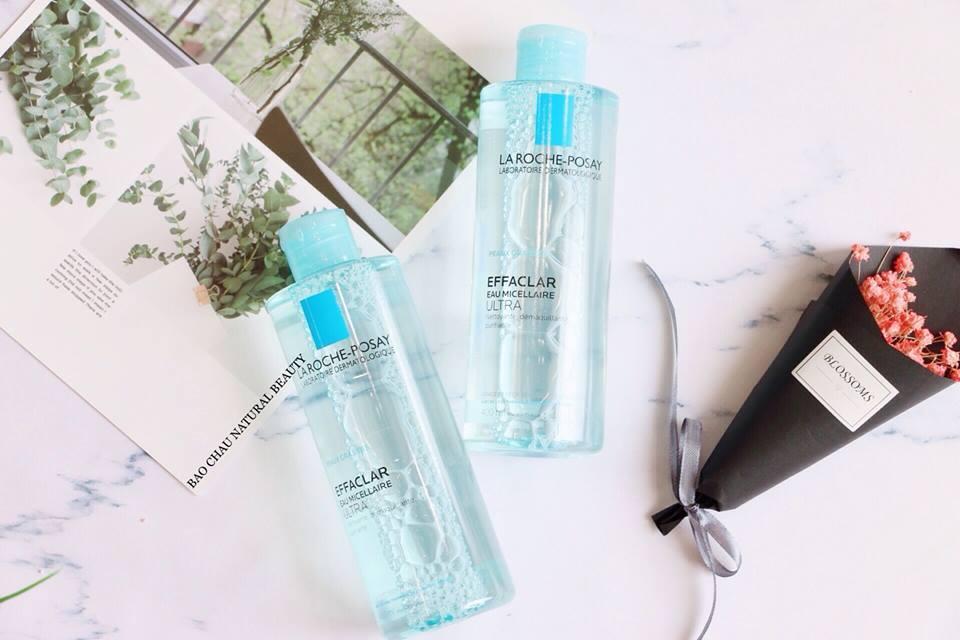 Nước tẩy trang La Roche-Posay Effaclar Micellar Water Ultra có khả năng làm sạch tuyệt vời, tẩy sạch cả lớp make-up cứng đầu nhất. (nguồn: Internet)