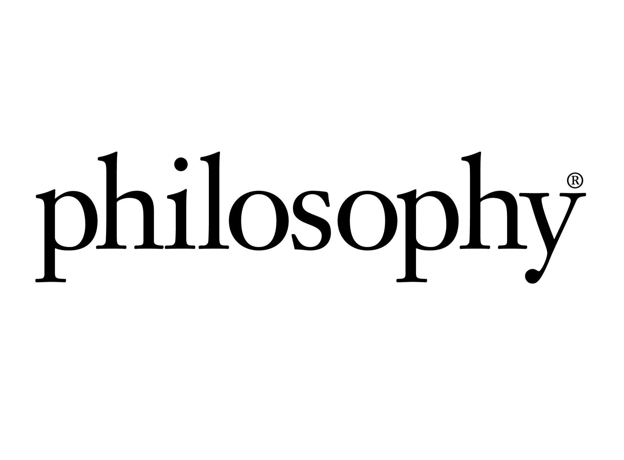 Logo thương hiệu Philosophy (Ảnh: Internet)