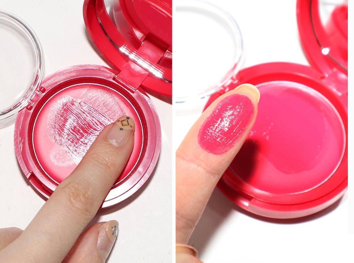 Chất kem siêu mịn của má hồng dạng kem Aritaum Sugarball Cushion Cheek Color. (nguồn: Internet)