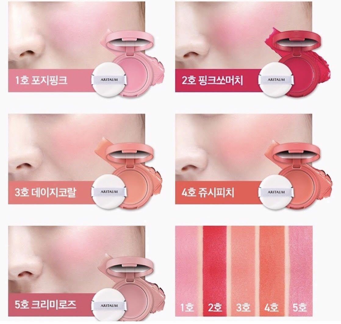 Màu má hồng lên da rất tự nhiên và đáng yêu. (nguồn: Internet)