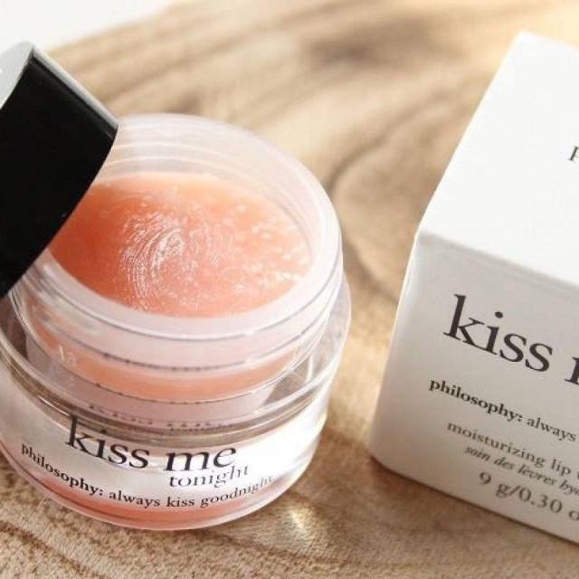 Mặt nạ ngủ môi Philosophy Kiss Me Tonight với chất kem mềm mịn, hoàn toàn không mùi (Ảnh: Internet)