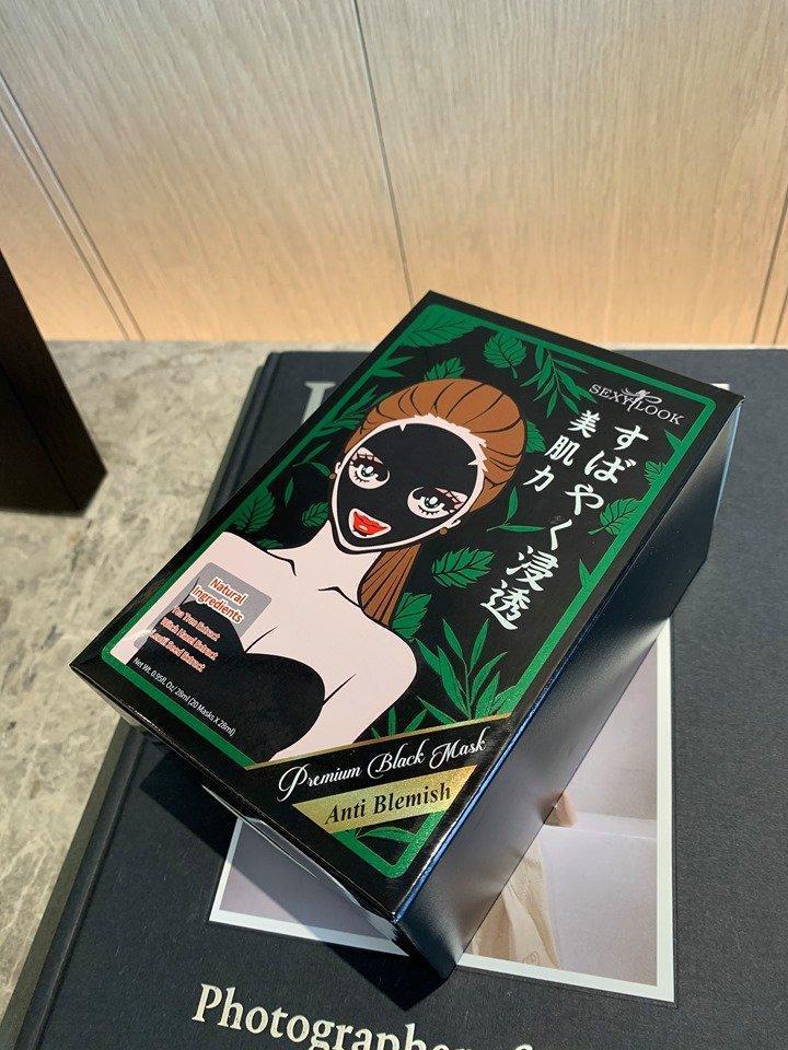 Vỏ giấy vuông vức của mặt nạ tràm trà SEXYLOOK