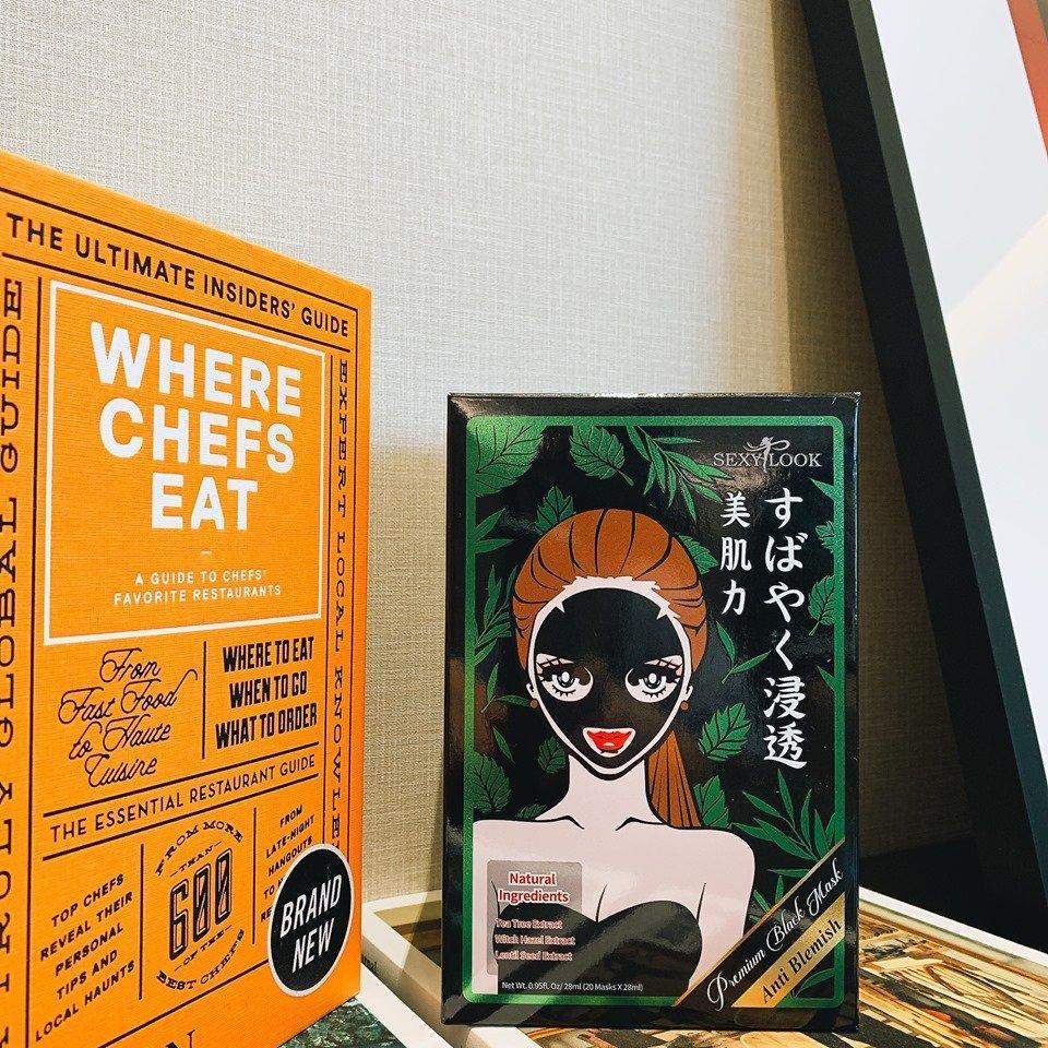 Mặt nạ tràm trà SEXYLOOK Tea Tree Anti Blemish Black Facial Mask có những thành phần lành tính và an toàn cho da