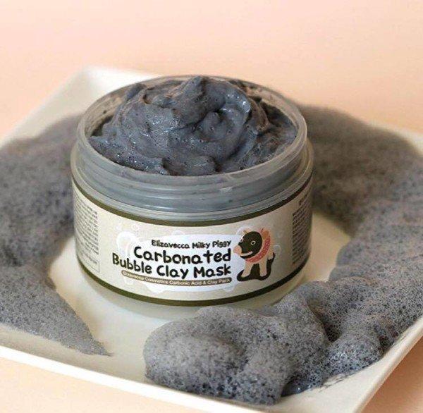 Mặt nạ thải độc Carbonated Bubble Clay Mask tạo bọt nhẹ nhàng làm sạch da từ sâu bên trong (Ảnh: Internet)
