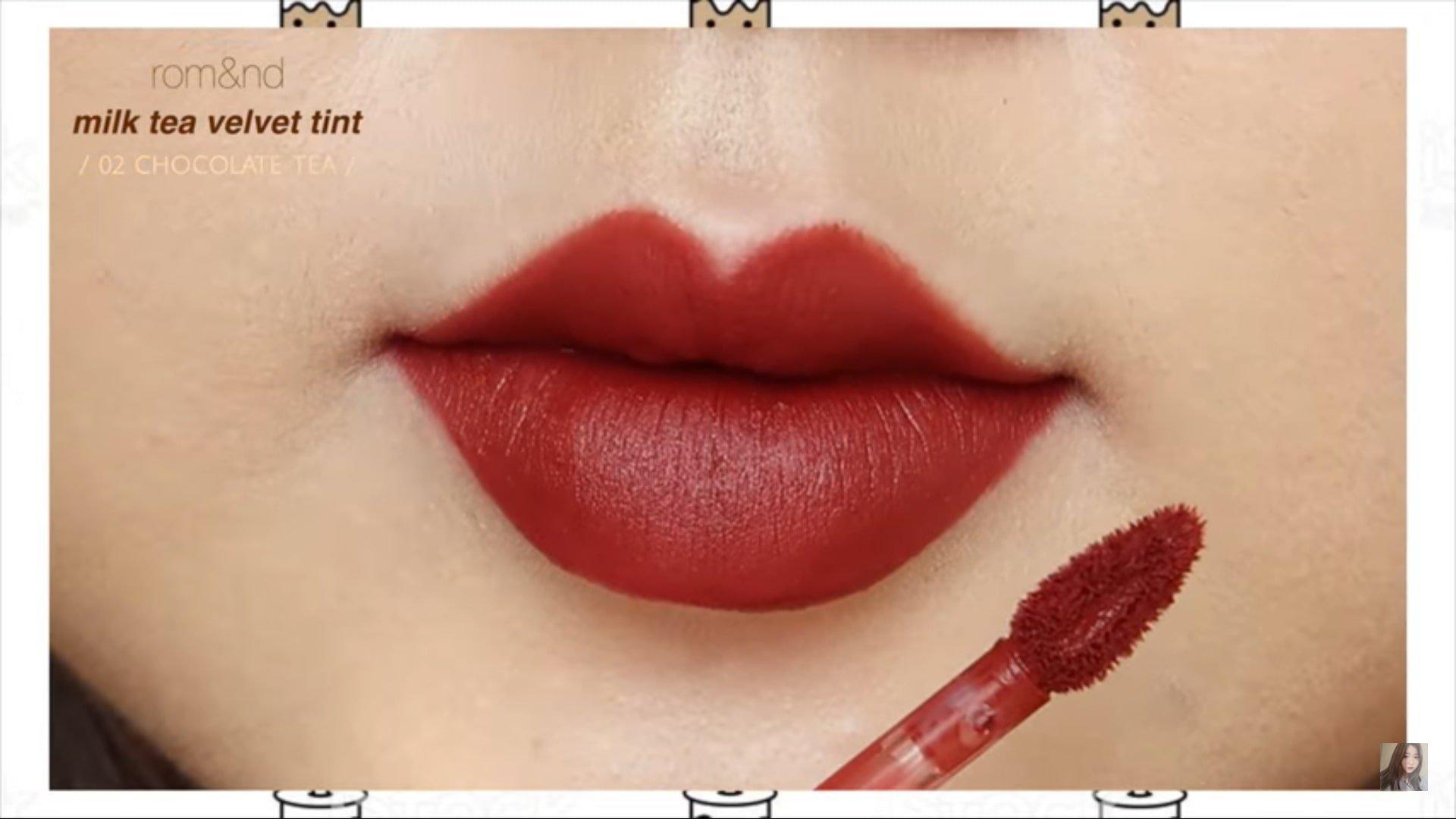 Chocolate Tea là sắc đỏ socola trầm đậm hút mắt, làm bật lên cá tính cho nàng. (nguồn: Internet)