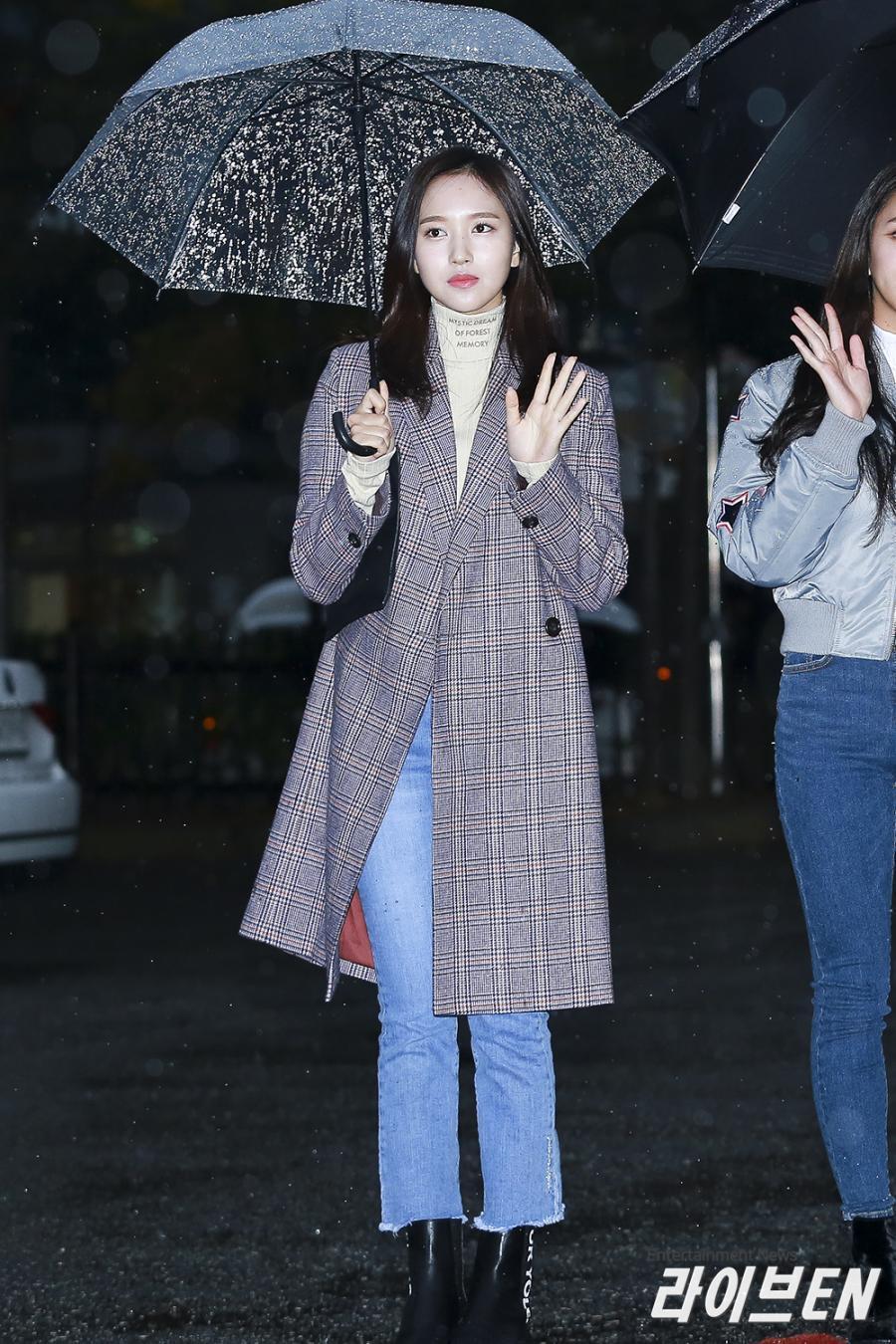 Mina cùng những chiếc quần Jean tôn dáng (ảnh: Internet)