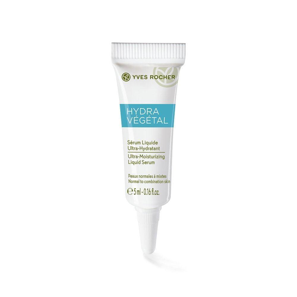 Yves Rocher Mini Ultra Moisturizing Liquid Serum 5ml có chiết xuất lành tính từ thiên nhiên, cấp ẩm cho làn da một cách an toàn
