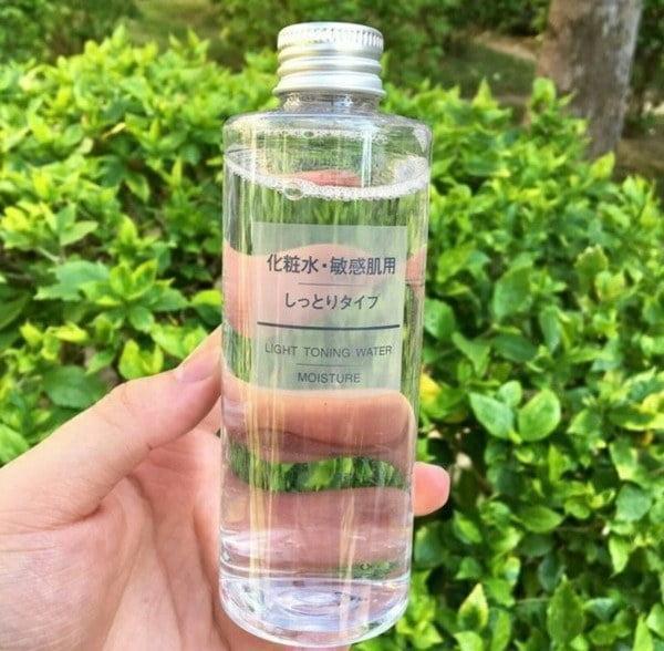 Nước Hoa Hồng Dành Cho Da Khô Và Da Thường Muji Light Toning Water Moisture 200ml