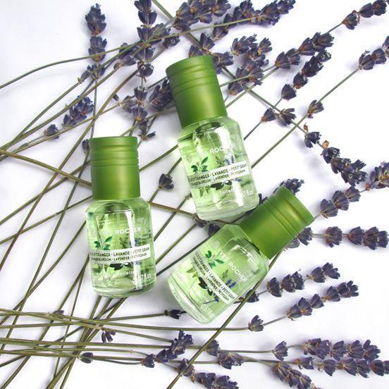 Một trong số nhiều dòng hương nước hoa của Yves Rocher