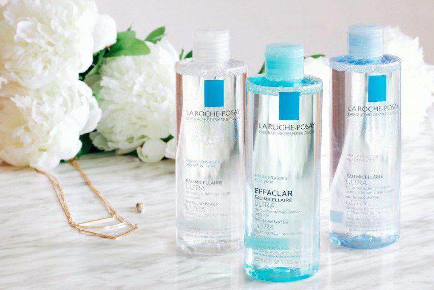 Nước tẩy trang La Roche-Posay Effaclar Micellar Water Ultra có ba phiên bản cho da dầu, da khô và da nhạy cảm. (nguồn: Internet)