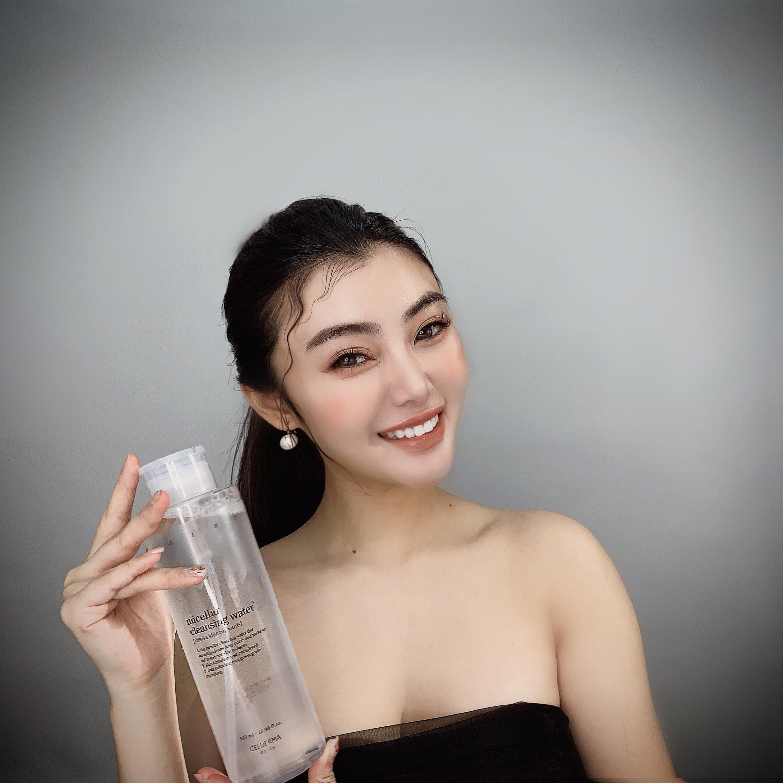 Tẩy trang Celderma (Micella Cleaning Water) được khuyên dùng bởi Make up artist. (Nguồn: Internet)