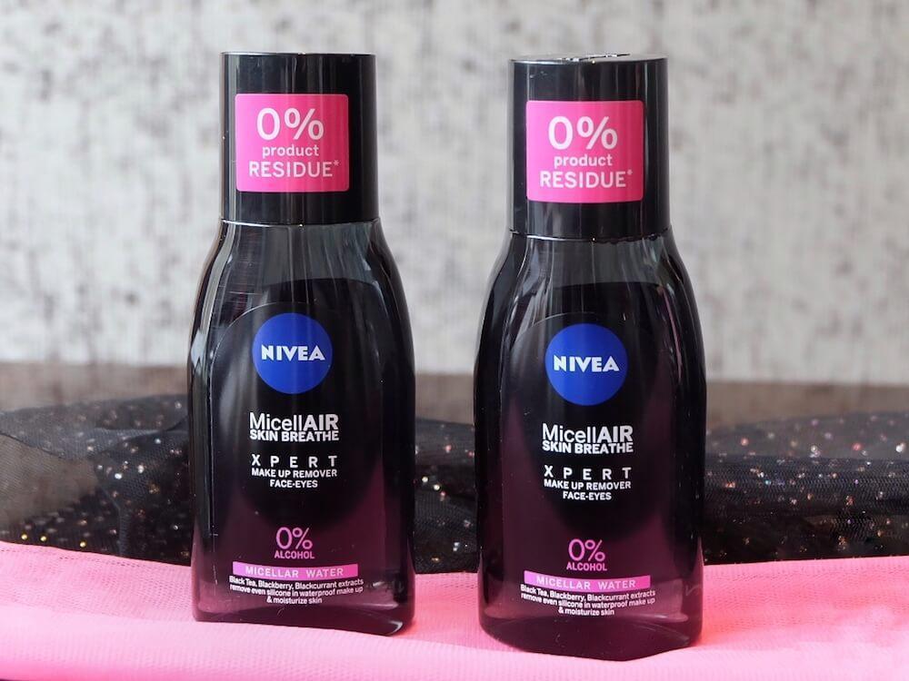 Nước tẩy trang Nivea MicellAir Skin Breathe với thiết kế tiện lợi và chắc chắn (Ảnh: Internet)