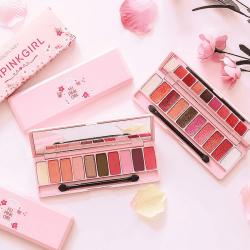 Kết quả hình ảnh cho Bảng Màu Mắt Hold Live Feipink Cherry Blossom Eyeshadow