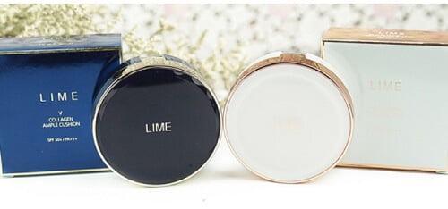 Phấn nước Lime V Collagen Ample Cushion SPF 50+/PA +++ - Sản phẩm nên có cho làn da khô