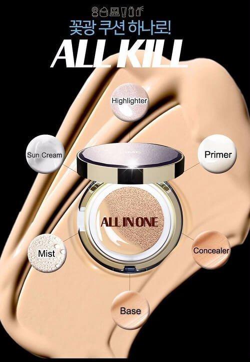 Lime V Collagen Ample Cushion - 3 công dụng, 6 chức năng chỉ trong 1 sản phẩm