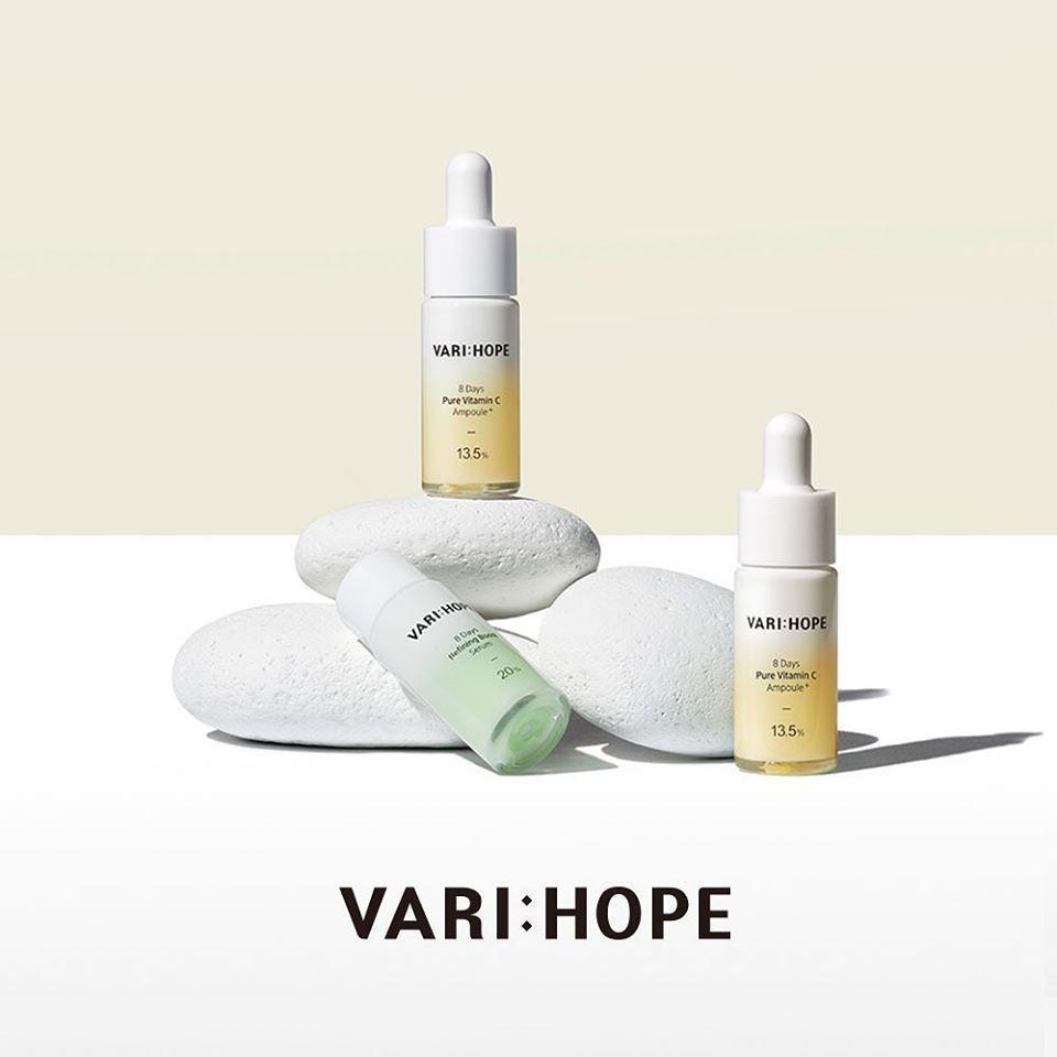 Vari:Hope thương hiệu chứa Vitamin C nguyên chất, có dẫn xuất là Ascorbic Acid đầu tiên trên thế giới (Nguồn: Internet).