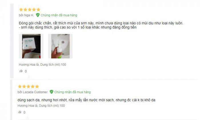 Review sữa rửa mặt Ric Skin Wash Foam của Kohinoor: Da sạch khỏe, sáng mịn 4 (Ảnh: BlogAnChoi)