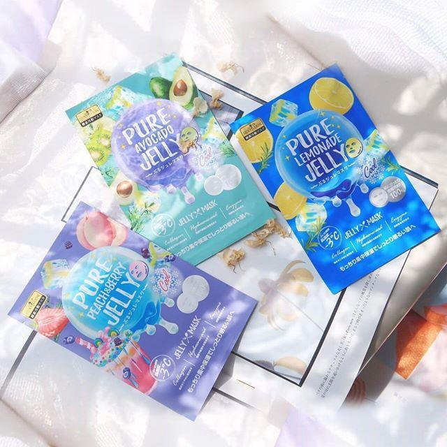 Mặt nạ Jelly lạnh lên men SEXYLOOK Pure Jelly Mask giúp da căng bóng, khôi phục sức sống. (nguồn: Internet)