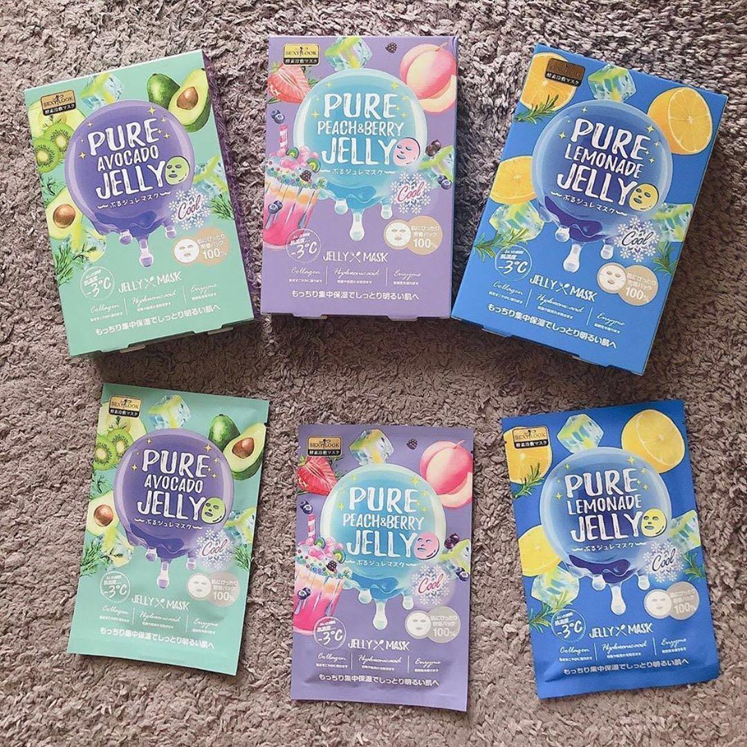 SEXYLOOK Pure Jelly Mask có bảng thành phần an toàn, không chứa cồn và các chất bảo quản độc hại. (nguồn: Internet)